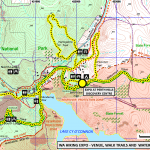 Hiking Expo Trails and Water Catchment Overview Map HikeWest 1